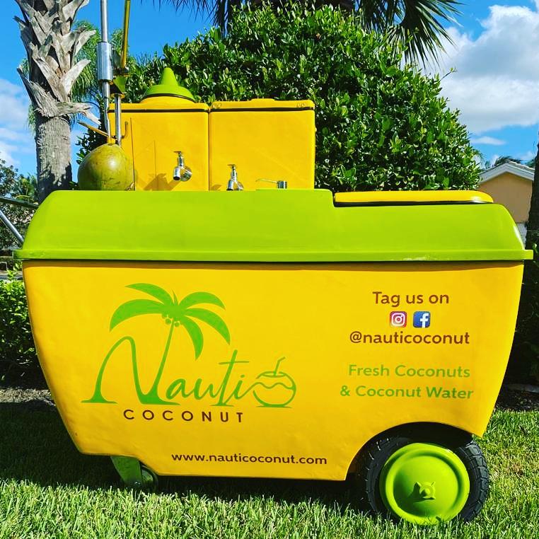 Nauti Coconut Cart